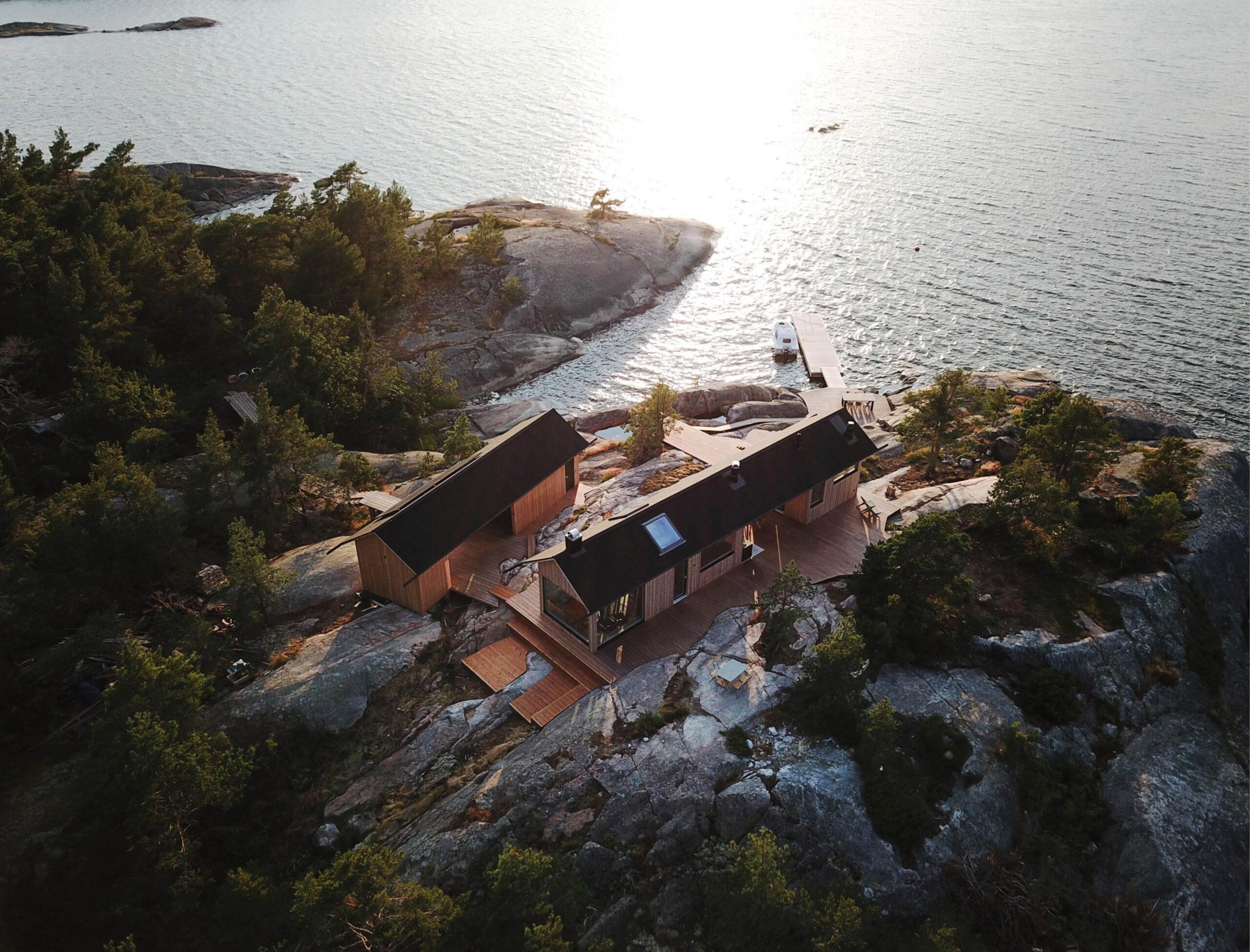 Project Ö Cabin by Aleksi Hautamäki